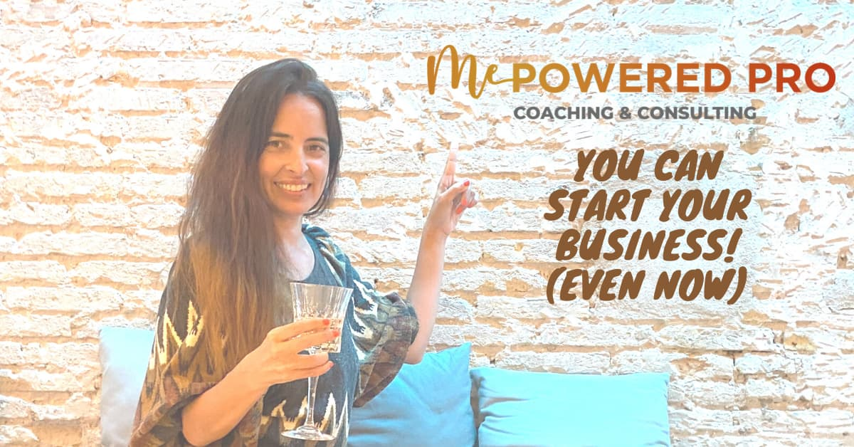 Gisella Casolaro celebrating 1 year of MePowered Pro